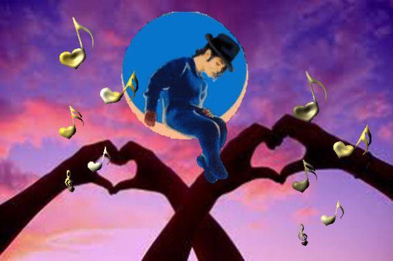 MJ Love pareja cielo