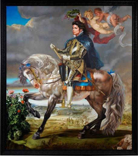 Michael Jackson Portrait by Kehinde Wiley (2009)