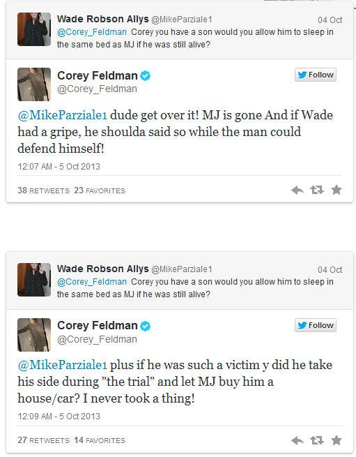 Corey Feldman tuit